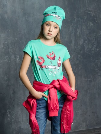 Футболка для девочек Pelican