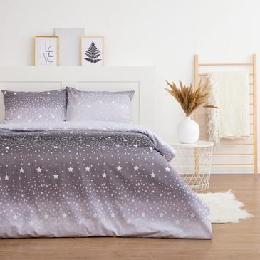 Комплект постельного белья Ночное небо, поплин Этель