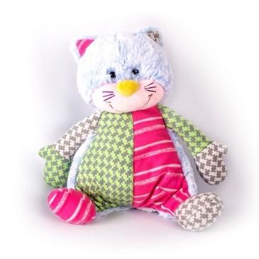 Мягкая игрушка Котик цветной Gulliver