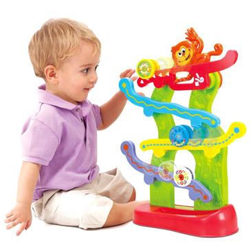 Развив. игрушка Лабиринт с обезьянкой PlayGo