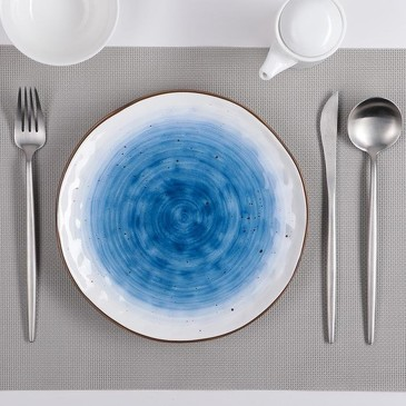 Тарелка Нептун, 21,8 см Доляна