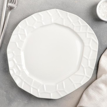 Тарелка обеденная Пиаф, 27,5 см Доляна
