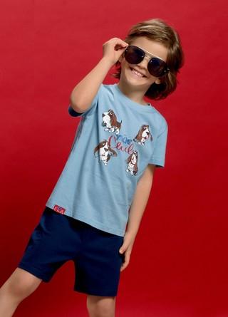 Комплект для мальчиков (футболка и шорты) Pelican
