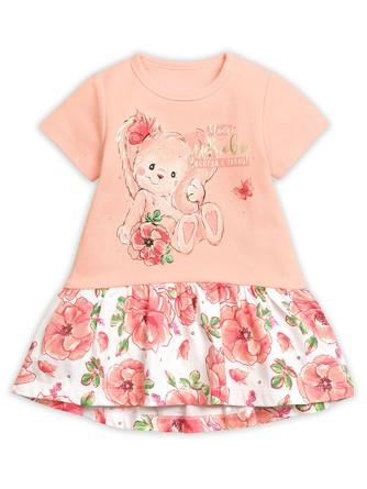 Платье Счастье на розовых пяточках Pelican