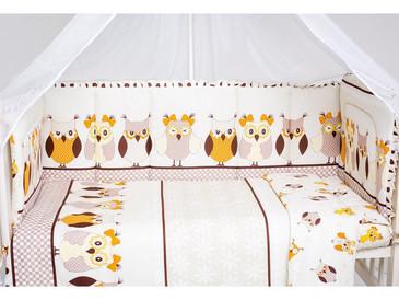 Набор бортиков в кроватку Совушки Мой Ангелочек