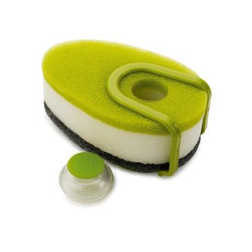 Набор губок с капсулой для моющего стредства Soapy Sponge™ из 3 штук Joseph Joseph