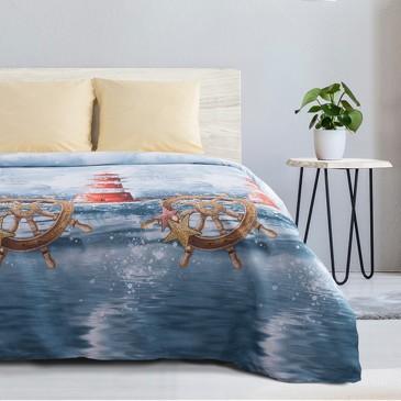 Комплект постельного белья Маяк, поплин Этель