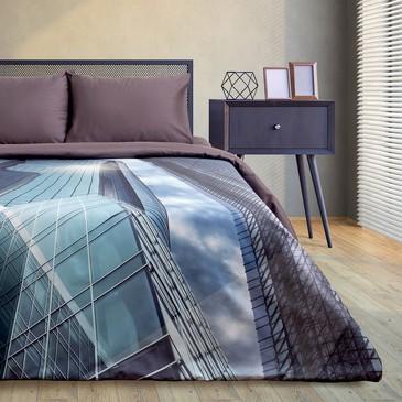 Комплект постельного белья Big city, мако-сатин Этель