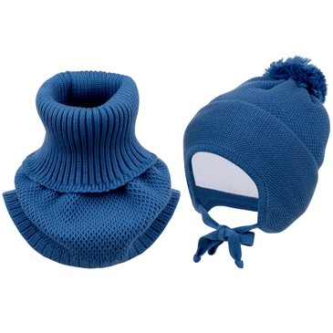 Комплект (шапка, шарф-воротник) зимний Fun Time
