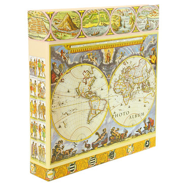 Фотоальбом 500 фото 10х15см antique map Pioneer