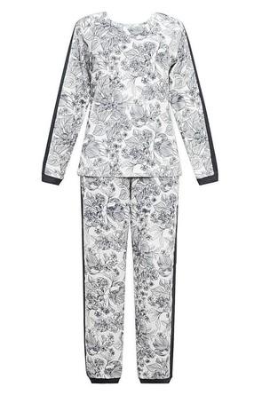 Комплект (джемпер и брюки) женский Цветочная фантазия Trikozza