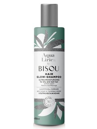 Шампунь-сияние для сухих и тусклых волос Ультраувлажнение, 250 мл Bisou