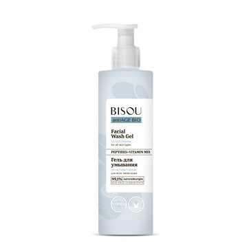 Гель для умывания Мультивитамин для всех типов кожи, 150 мл Bisou
