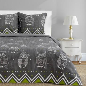 Комплект постельного белья Ушастые совы (вид 1), бязь Этель