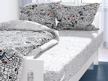 Комплект постельного белья Фридрих поплин Ночь Нежна