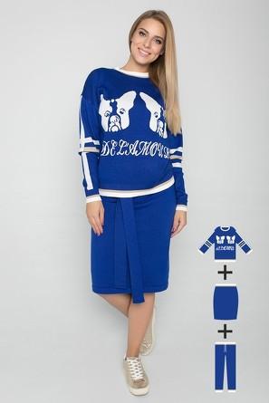 Комплект (свитшот, юбка, брюки) Eliseeva Olesya