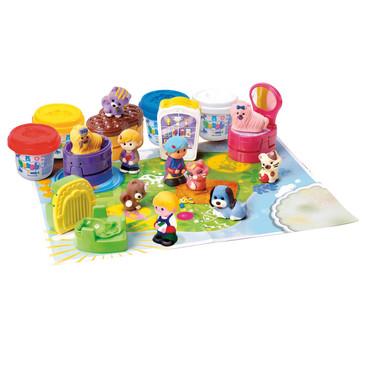 Набор с пластилином Зоомагазин PlayGo