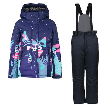 Комплект (куртка, полукомбинезон) зимний Fun Time