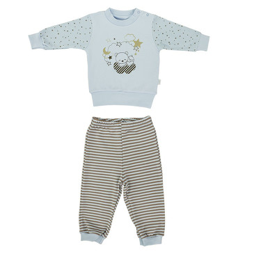 Комплект Звездочёт (кофточка и штанишки) LEO