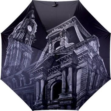 Зонт полуавтомат трость Собор Flioraj