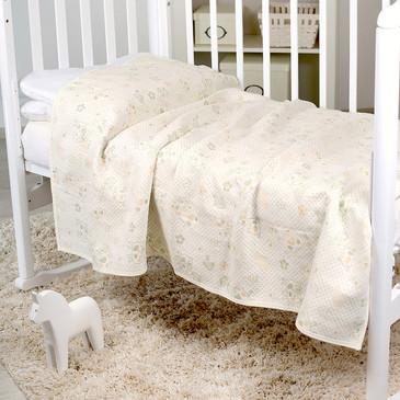 Одеяло, трикотажное, стеганое Жирафики, 100х140 Baby Nice