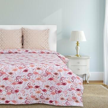 Комплект постельного белья Фламинго, бязь Этель