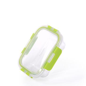 Контейнер с пластиковой крышкой 14х10х5см / 380мл (стекло) Fissman