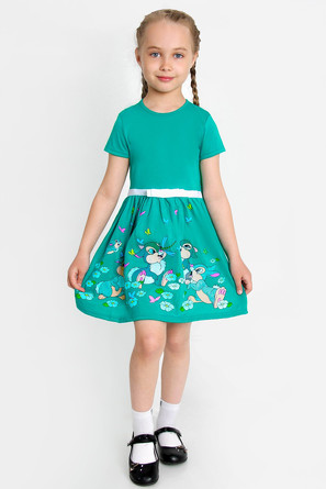 Платье Догонялки-4 с шелкографией Ивашка