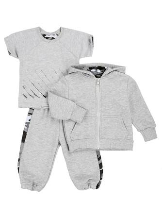 Комплект (футболка, толстовка и штаны) Грачонок