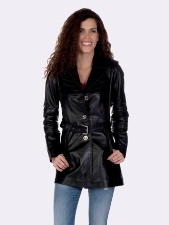 Кожаная куртка Giorgio di Mare