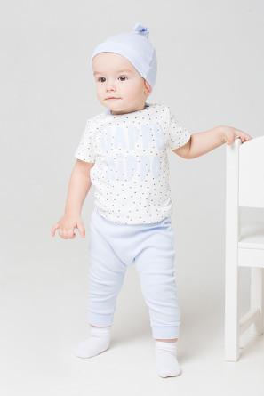 Комплект (футболка и брюки) Маленький бегемотик Crockid