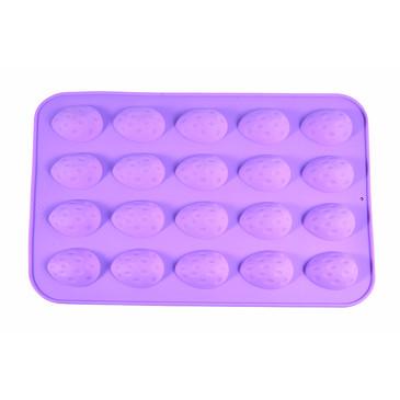 Форма для льда и шоколада 20 ячеек ПЕРЕПЕЛИНЫЕ ЯЙЦА 28x19x1,2см   Fissman