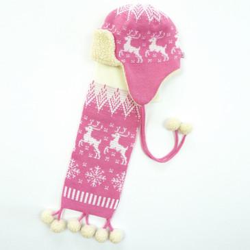 Комплект (шапка и шарф) Арктика Ковровский трикотаж