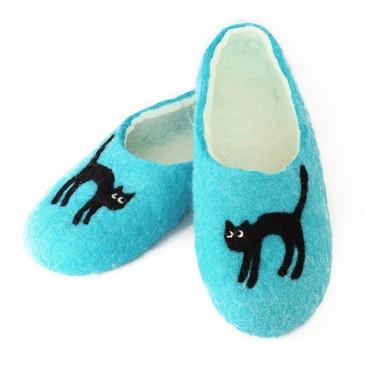 Войлочные тапочки Котята Woole