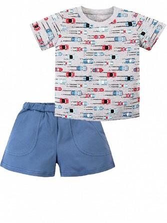 Комплект (футболка и шорты) Веселый малыш