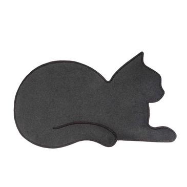 Коврик придверный Cat серый Balvi