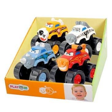 Развив. игрушка Машинка-зебра PlayGo