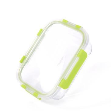 Контейнер с пластиковой крышкой 19х13х5см / 800мл (стекло) Fissman