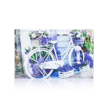 Обложка на паспорт Велосипед-клумба 1 Eshemoda