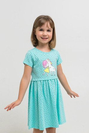 Платье №1268 Единороги Crockid