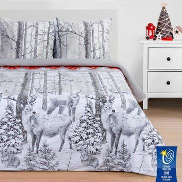 Комплект постельного белья Лесная сказка, поплин Этель