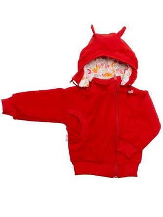 Куртка-косушка с капюшоном флис Микита