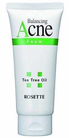 Пенка для умывания для проблемной кожи с натуральным маслом чайного дерева Rosette