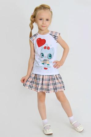 Костюм (футболка и юбка) Самара-1 с шелкографией Ивашка