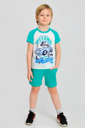 Костюм (футболка и шорты) Джек-4 с шелкографией Ивашка