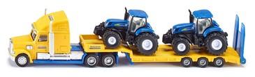 Грузовик с двумя тракторам New Holland (1-87) Siku