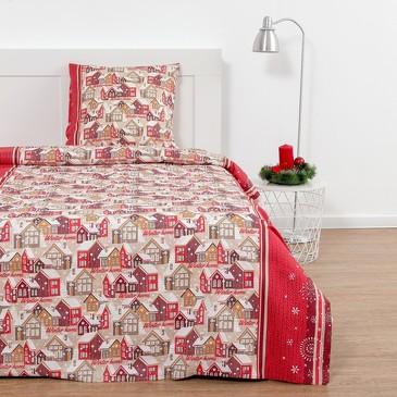 Комплект постельного белья Зимний городок (вид2), бязь Этель