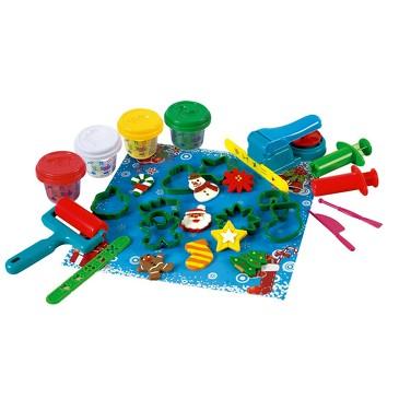 Набор с пластилином Новогодняя выпечка PlayGo