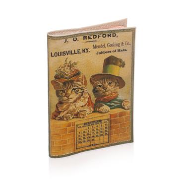 Обложка на паспорт Ретро коты Eshemoda
