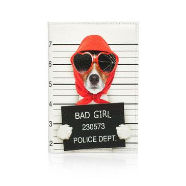 Обложка на паспорт Bad Girl  Eshemoda